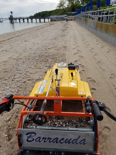 Beach Cleaner, Beach cleaning Machine, Beach Sand Sifting tool