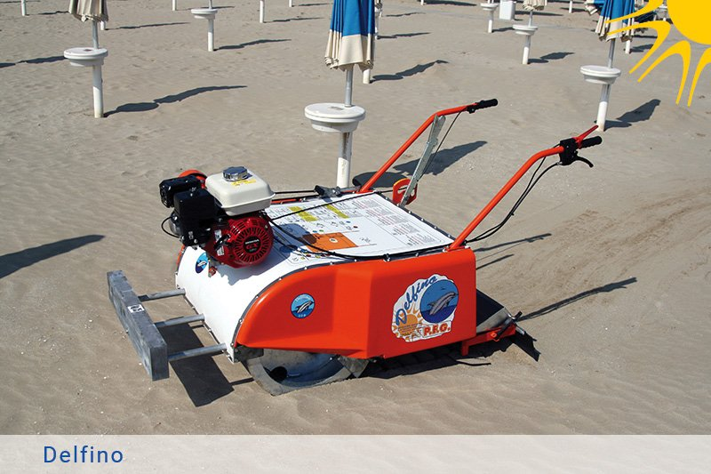 Beach Cleaner, Beach Cleaning Equipment, Sand sifting Tool, Walk behind beach cleaner