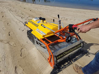Beach Cleaning equipment, beach cleaners, beach cleaning machines,