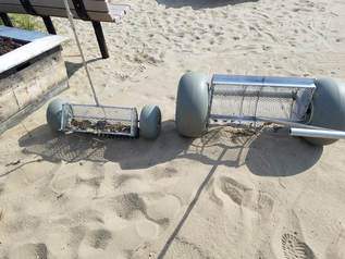 Beach Cleaning equipment, beach cleaners, beach cleaning machines