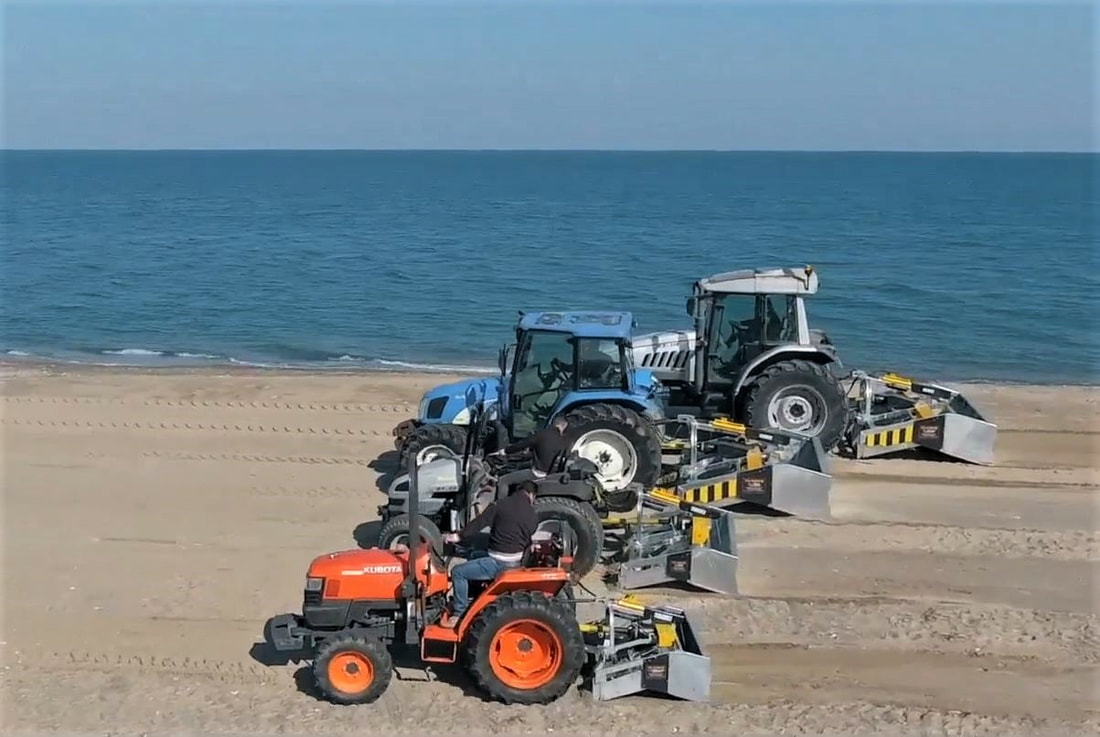 full line of Beach Cleaners FOR SALE